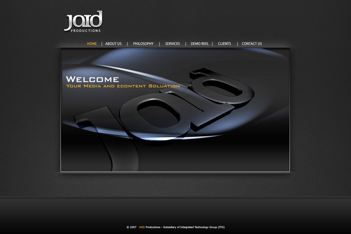 Jaid website
