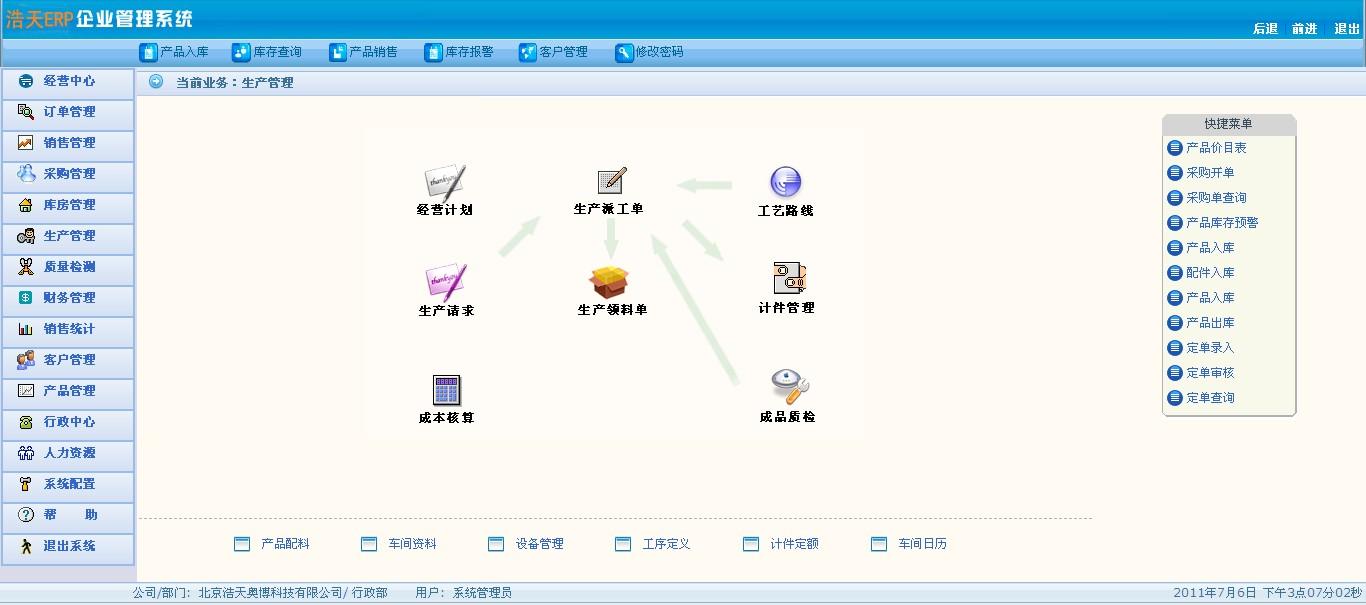 erp企业资源管理系统