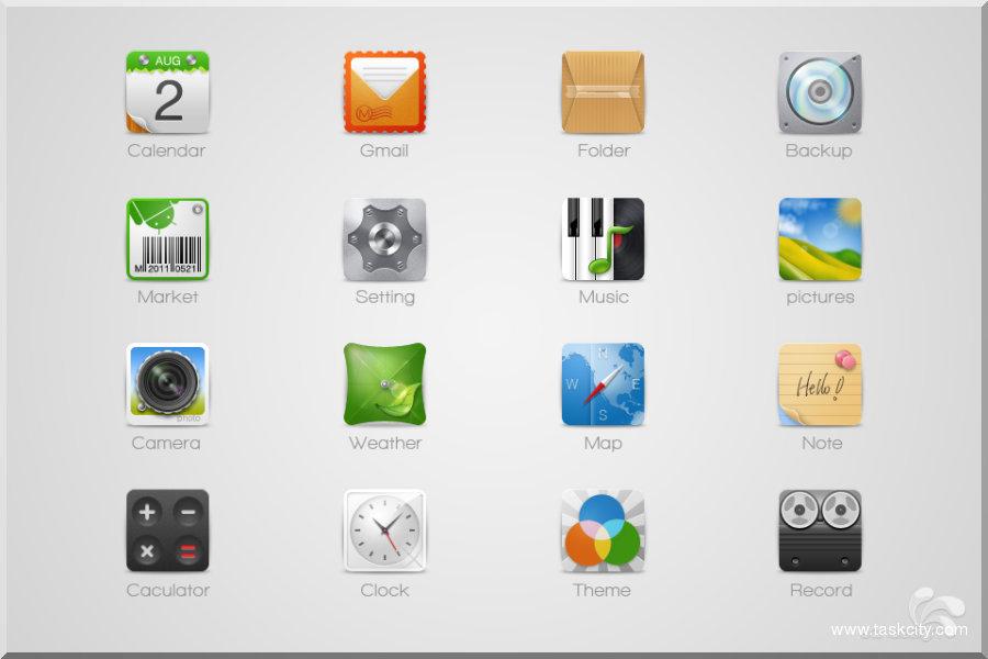 android软件图标素材