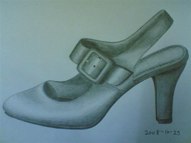 鞋图1——手绘