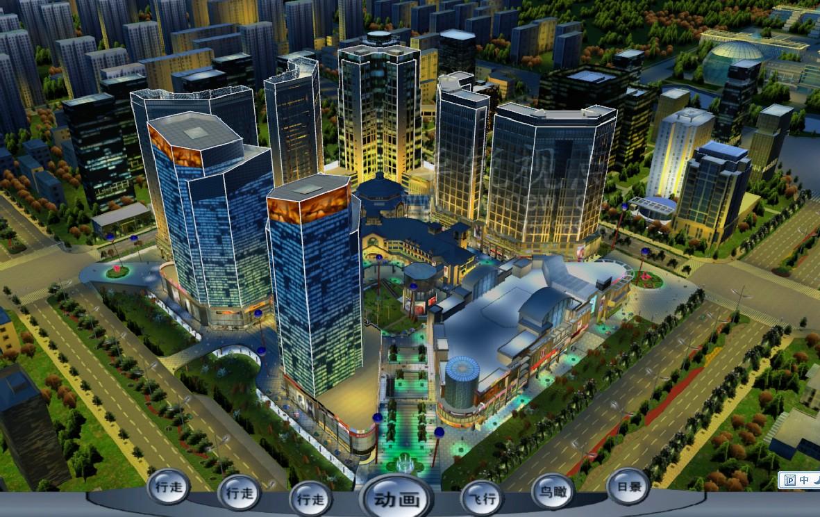 北京华锐视点专业制作虚拟现实,数字城市,三维模型