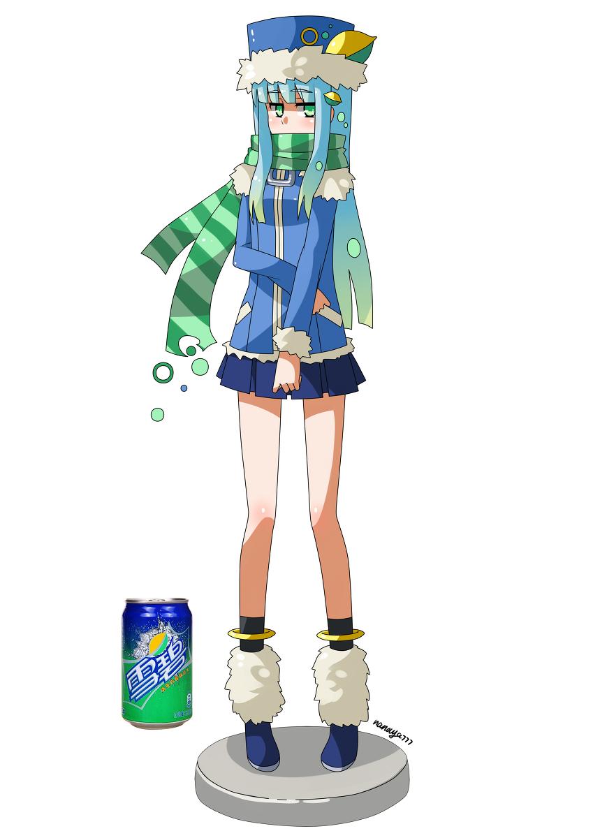 雪碧饮料娘             图片