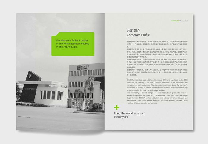 皇隆制药企业宣传册设计 -- d19861112图片