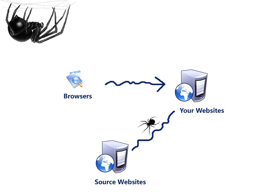 互联网网络爬虫(蜘蛛)系统