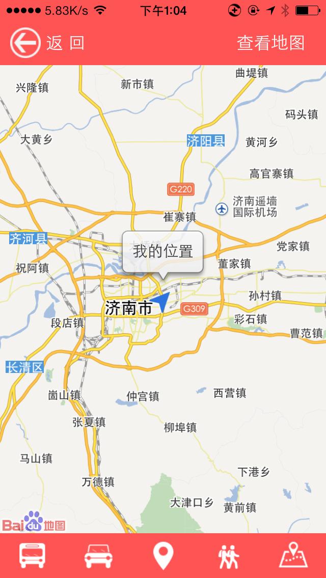 公司手绘地图导航